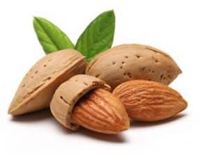 makanan pembentuk otot - kacang almond