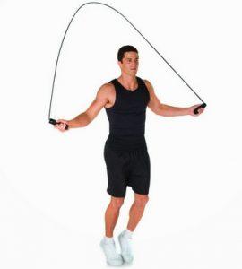 olahraga membakar kalori - lompat tali