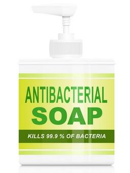 cara menghilangkan bau badan - sabun anti bakteri