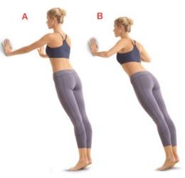 cara mengecilkan lengan dengan wall up