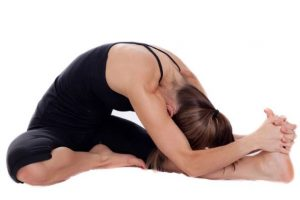 Janushirasana atau Head to Knee Pose