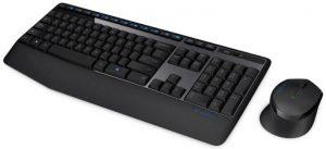 Menggunakan Place mouse dan keyboard
