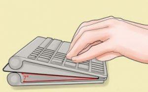 Penyesuaian kecenderungan keyboard