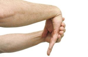 Perpanjangan pergelangan tangan dan jari
