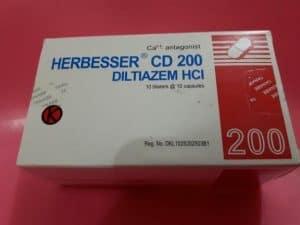 Herbesser CD 100 atau Herbesser CD 200
