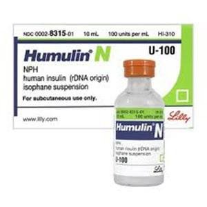 Humulin N vial