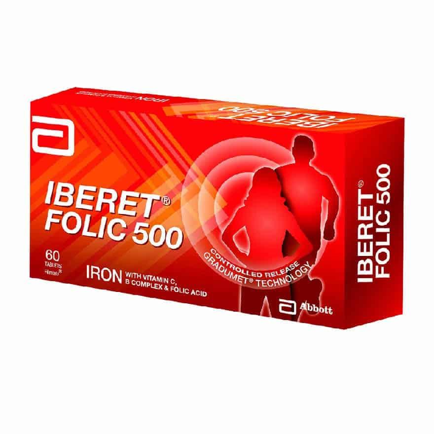 Iberet-Folic-500