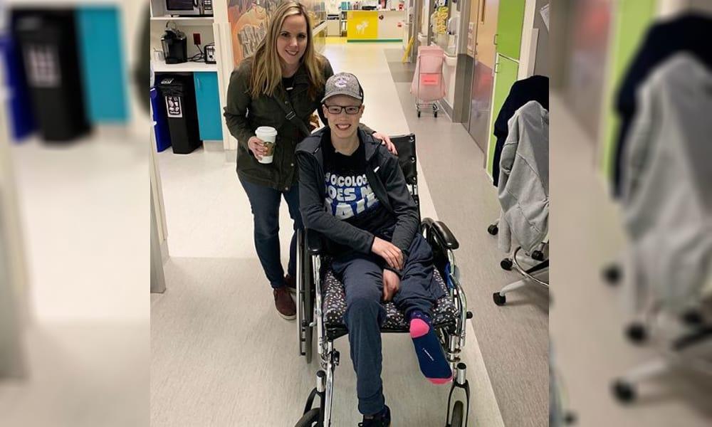 Karena Kanker, Bocah 14 Tahun Ini Kakinya Harus Diamputasi