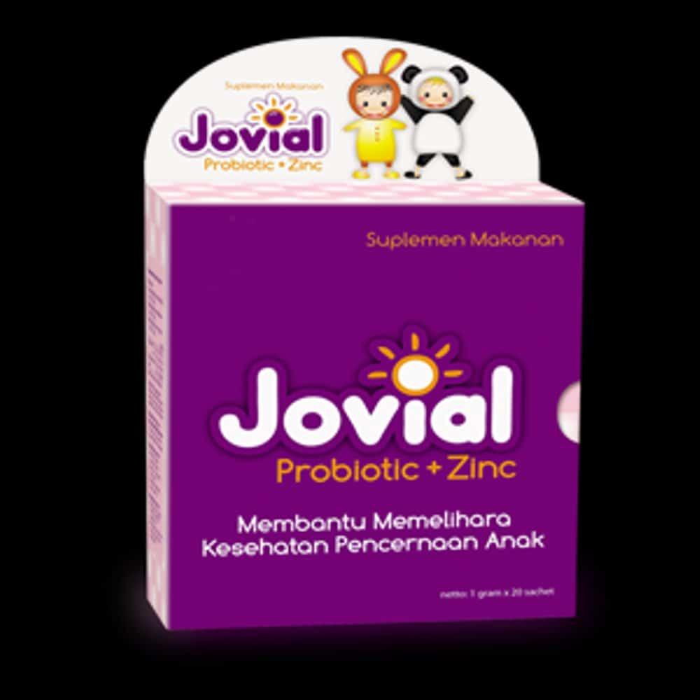 Jovial Probiotic + Zinc
