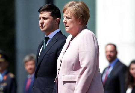 Diduga Dehidrasi, Kanselir Jerman Alami Kejang saat Bertemu Presiden Ukraina