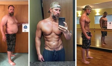 Pria Ini Berhasil Menurunkan Berat Badan Sampai 41 Kg dalam 150 Hari, Ini Rahasianya!